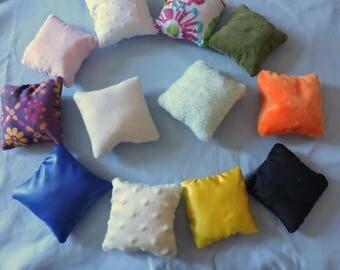 Set of 24 Montessori sensory pillow