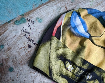 Hulk Hat Ironman Boyfriend Slouchy Beanie Baggy Hat Slouch Beanie Hipster Beanie Oversized Beanie Slouchy Beanie Boho Beanie Knit Slouchy