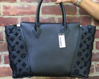 Louis Vuitton W Pm Veau Cachemire Monogram Tote Brand New With Tags Sold Out 13