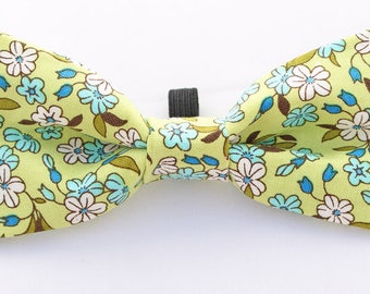 Autumn Blossom Bow Tie  for Puppy or Dog