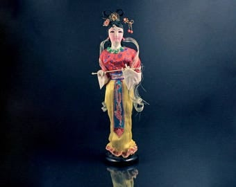 Collectible Cloth Figurine, Chinese, Oriental, Doll, Statue, Asian, 12-inch Doll, Tang Dynasty
