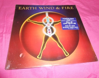 Earth Wind & Fire LP Vinyl Record Album Power Light SEALED!