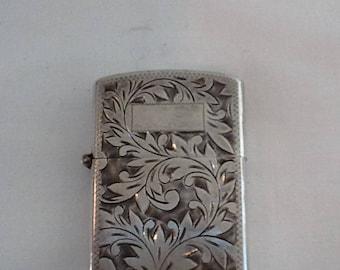 Vintage Sterling Silver Lighter