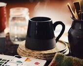 Handmade Ceramic Mug in Black Glaze
