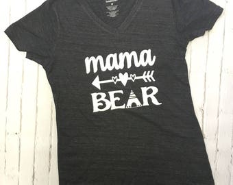 Mama Bear Shirt, Lazy Sunday Shirt, Cute Mom shirt, Mama Bear Tee, Mom to be shirt, fun mom shirt