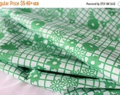 Closing Sale Papel Picado Verde - Fiesta Fun Collection by Dana Willard for Art Gallery Fabrics - Quilting Weight Cotton