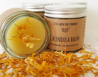 Calendula Balm, Natural Skincare, Gentle Balm, Dry Skin Salve,Gift for Mum-to-be