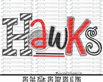 Hawks SVG, Cut file, Cheer svg, School spirit, socuteappliques, SvG Sayings, football svg, football sister svg, football mom svg