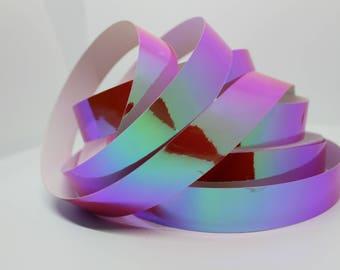 "1"" Galactic Grapefruit Translucent Color Morph Hula Hoop Tape - Hula Hoop Supplies - JAMtape - Color Shift 50ft, 100ft, or 150ft rolls!"