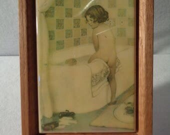 Vintage Bathroom Tile - Vintage Bath Tub - Childs Bath - Victorian Bath Tile - Kimberly Enterprises