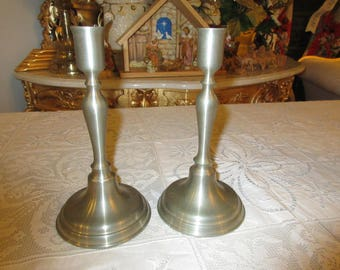 VERMONT DANFORTH PEWTER Candle Holders