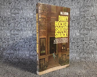 Dinky Hocker Shoots Smack! Paperback Teen Book from 1972, Food and Heroin Addiction