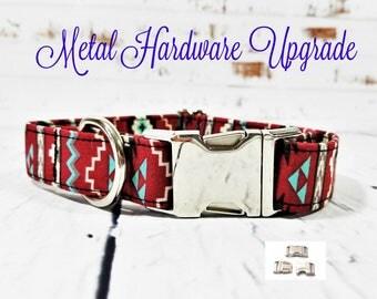 Metal Hardware Upgrade for a Dog Collar