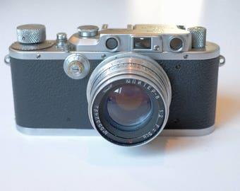 1939 Leica IIIa with 50mm Jupiter 8