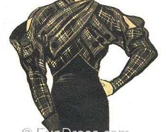 1933 Katharine Hepburn Jacket E-Pattern Set C by EvaDress