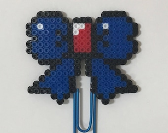 USA Bow Planner Clip | Paper Clip | Planner Clips | Bookmark | 4th of July | Patriotic | Mini Perler Beads| Page Marker | Gifts |