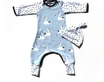 Baby boy romper SALE baby boy all in one, baby boy going home outfit, baby boy gift set, baby shower gift, baby romper beanie set
