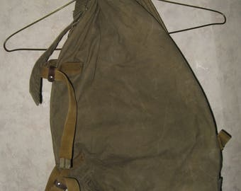 Soviet Army Military Duffel Bag Canvas Russian Backpack USSR