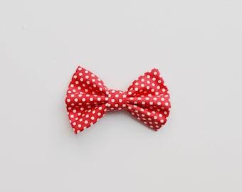 Pink Dottie Pet Bow Tie