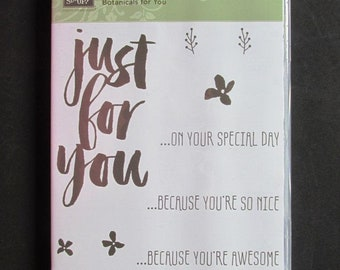 "Stampin' Up! ""Botanicals for You"", NIP"
