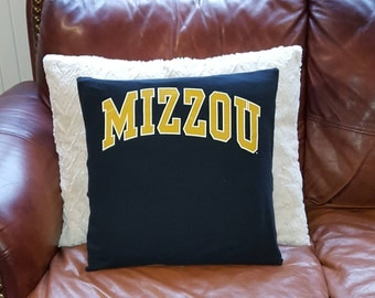University of Missouri, Mizzou, Pillow Cover