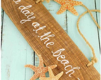 Hanging Driftwood Plank-Personalize, Engrave-Shower/Wedding/Party Gift/Favor, Christmas, Birthday, Home Decor, House Warming, Beach/Rustic