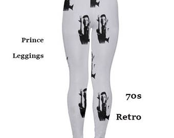 Prince Leggings, tights, fashion, 80s, 70s, prince, music, films, fashion, tights, leggings, purple rain