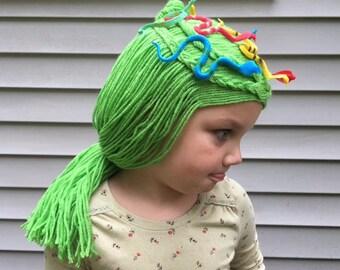 medusa wig medusa costume kids medusa toga party party costume snake - Medusa Halloween Costume Kids
