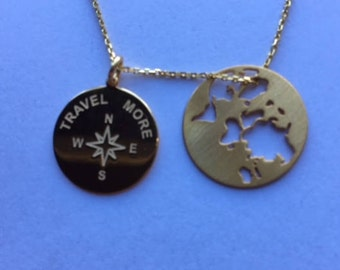 World Travel Necklace. Best trip of my life...