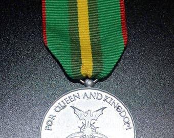 TRMN Dress Medal -B- Havenite Operational Service