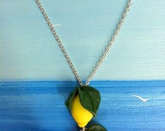 Sicilian lemons necklace