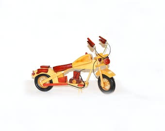 Wooden toys, Wooden bike, Wood Bike Toy, Bicycle handmade, wooden motorcycle, motorcycle toy, bike toy, Natural wood, Toy Gift, Children toy