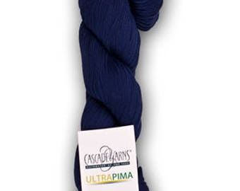 Cascade Ultra Pima Cotton DK Weight Yarn Colors 3715 thru 3758