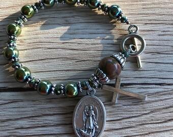 Rosary Bracelet Archangel Raphael