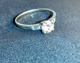 Art Deco Tiffany & Co. Vintage Engagement Ring