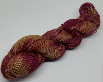 Cattleya - Yak Sock Yarn - Superwash Merino + Yak + Nylon - 70/20/10 - Ready to ship