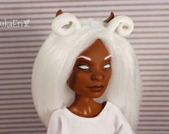 Monster High Custom Repaint Art doll OOAK Clawd Wolf