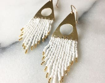 Alexandria beaded earrings