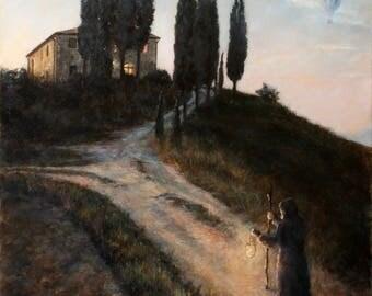 Darko Topalski - The Light of a New Dawn - Original painting surreal fantasy artwork