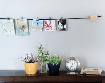 Photo Display, Photo Holder, Card Hanger, Picture Hanger, Unique Picture Hanger, Card Hanger, Wall Hanging, Memo Hanging, Notes Hanger