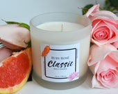 Ruby Rosé, Classic - Soy Candle, Pure Soy Candle, Strong Scented Candle, Luxury Candles, Luxury Gifts, Mothers Day Gift, Aromatherapy Candle