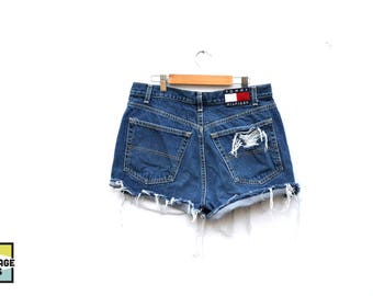 Vintage Authentic Tommy Hilfiger High Waisted Shorts