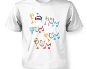 Pa Rum Pum Pum Pum kids t-shirt
