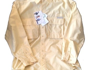 NWT Large ExOfficio Buzz Off Insect Repellent Shirt