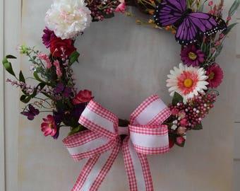 Butterfly Beauty Wreath
