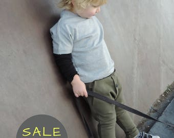 Toddler Harem Pants || Harem Pants Boys || Harem Pants Baby || Kids Harem || Xmas Gift || Khaki || 18 month 4T 5T - By PetitWild