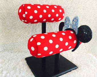 Red Polka Dot- Different Base Colors Available