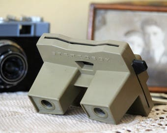 Slide Viewer - Stereoscope Viewer - Vintage Stereoscope Stereobox - Slide Projector - Diapositive Viewer - 3D Viewer - Photo Prop