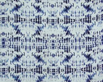 """Abstract Print Cotton Fabric, Decorative Fabric, White Fabric, Home Accessories, Craft Fabric, 43"""" Inch Fabric By The Yard ZBC8824A"""