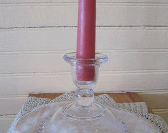 Imperial Glass Candlewick Candle Holder - #1347